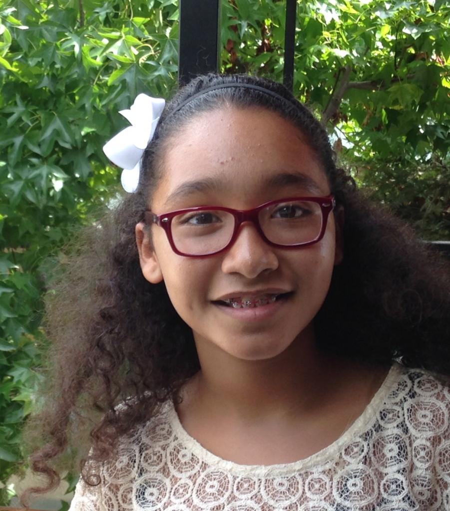 Isabella Payne, 6th grade