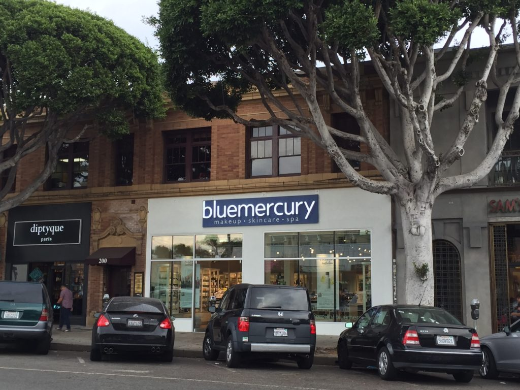 Bluemercury, a national beauty products chain, opened a new store on Larchmont Boulevard in mid-September.