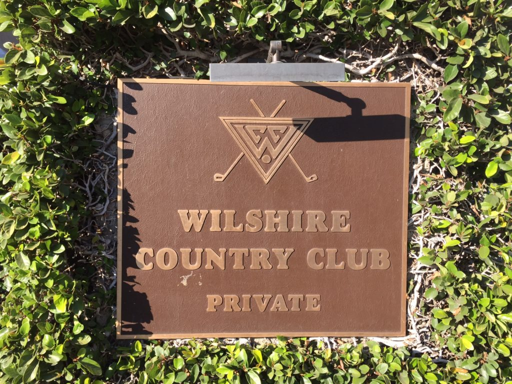 An employee was killed at the Wilshire Country Club on the night of October 20th.