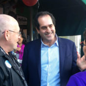 Schwartz has asked Garcetti for a one-year pledge and challenged him on his decision not to accept matching funds.