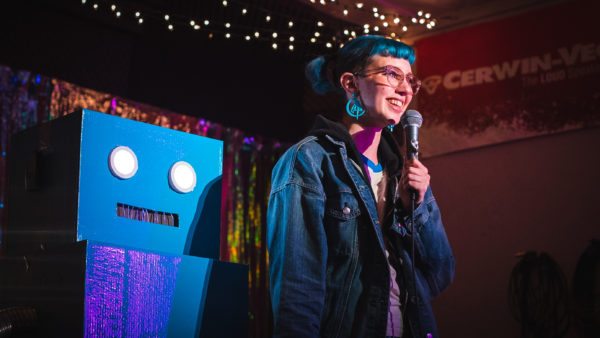 Human and Robot Humor Get Big Laughs at AMPLYfi