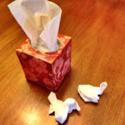 Excessive nose blowing on paper tissues can rub a nose raw, while tissues softened with lotion contain chemicals that may actually cause allergies.
