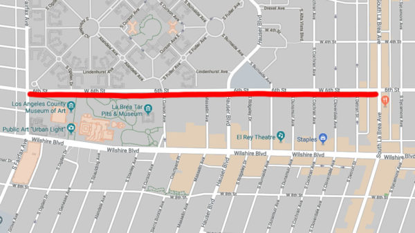 Weekend Road Closures Planned for 6th Street
